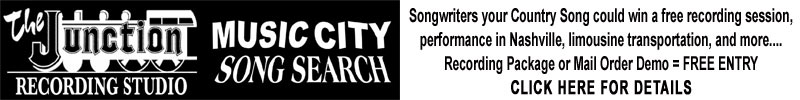 the Junction Recording Studio Music City Song Search